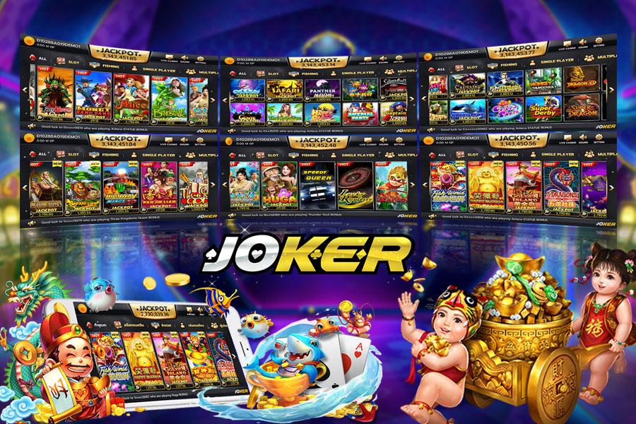 JokerGaming สล็อตออนไลน์  ลุ้นรางวัล Jackpot ไปกับ เกมสล็อต